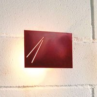 Knikerboker Des agn   designer wall lamp  red