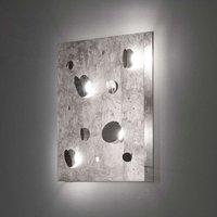 Knikerboker Buchi wall light 60x60cm silver leaf