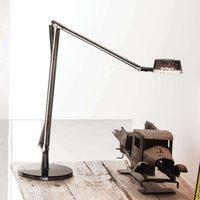 Adjustable LED table lamp Aledin Dec  smoky grey