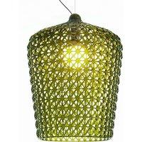 Designer hanging light Kabuki  green