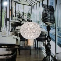 Transparent LED designer pendant lamp Planet