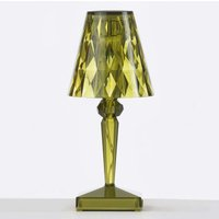 Decorative LED table lamp Battery  IP54  green
