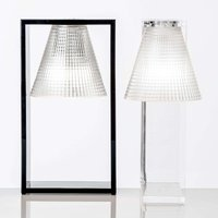 LED table lamp Light Air  black and transparent