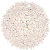Transparent LED ceiling light Bloom  28 cm