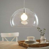 Designer LED pendant lamp FL Y  transparent