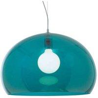 Designer LED pendant lamp FL Y  petrol blue