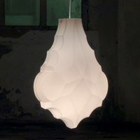 Karman 24 Karati hanging light  white leaf