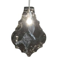 Karman 24 Karati hanging light  smoky grey leaf