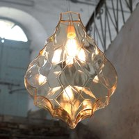Karman 24 Karati hanging light  yellow leaf