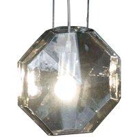 Karman 24 Karati hanging light  grey octagonal