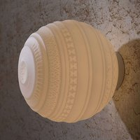Handblown designer ceiling light Braille  25 cm