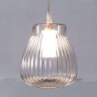 Karman Ceraunavolta pendant light  glass lampshade