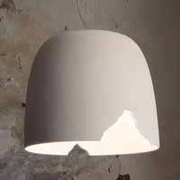 Karman Crash   hanging light made of ceramics