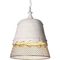 Karman Domenica plaster hanging light  gold 35 cm