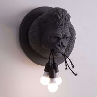 Karman Ugo Rilla   designer wall light  grey