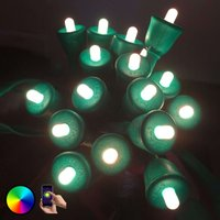 MiPow Playbulb String LED string lights 15 m green