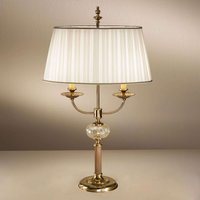 Classic table lamp Ascot  two bulb