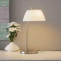 Nickel plated table lamp Malm   nickel