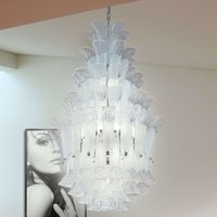 Impressive hanging light Petali  110 cm high