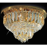 Cristalli ceiling light 24 carat  gold plated