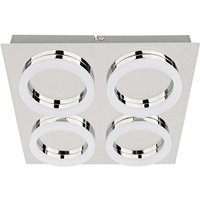 Square shaped LED ceiling lamp Ring