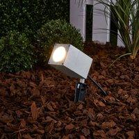 Icaro outdoor spotlight with ground spike