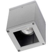 Small Afrodita outdoor ceiling light in grey
