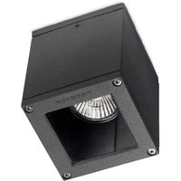 Small Afrodita outdoor ceiling light  anthracite