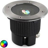 Round GEA LED recessed floor light  colour change