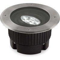 Gea   round LED recessed floor light