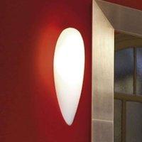 Artistic wall light Glass  oval