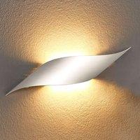 Rizz LED wall light  34 5 cm  aluminium