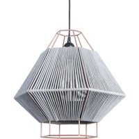 Hanging light Legato with cord  grey