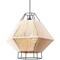 Hanging light Legato with cord  beige