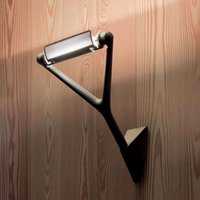 Extravagant wall lamp Lola in black