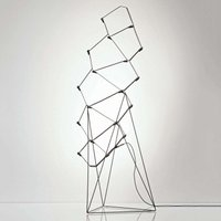 Exceptional designer LED floor lamp Nothing