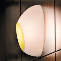 Luceplan Goggle wall light with iridescent effect