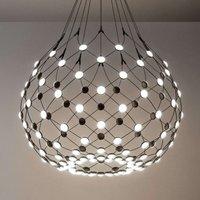 Mesh pendant lamp   80cm 1m suspension system