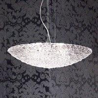 Brilliant Artic glass hanging light