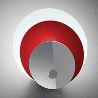 Ceiling light HULA HOOP  red