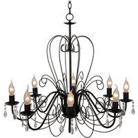 Rusty brown Ravenna chandelier