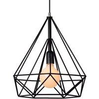 Attractively designed Ricky hanging light  black