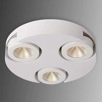 Round LED circular ceiling spotlight Mitrax  white