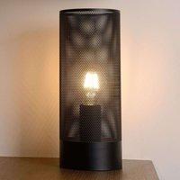 Linear table lamp Beli in black