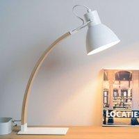 Splendid table lamp Curf  white