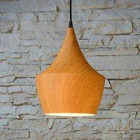 Woody   trendy hanging light in wooden design