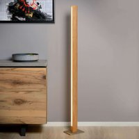 Wooden Sytze LED floor lamp