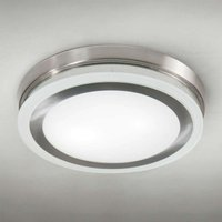 Round ceiling light RING 9115 51 cm chrome