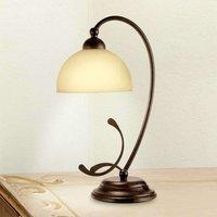 Rustic table lamp Lorenzo