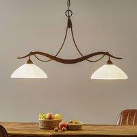 Two bulb hanging light Samuele  scavo